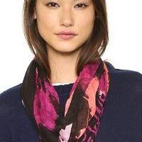 专题:选款人气围巾,打造时尚暖冬