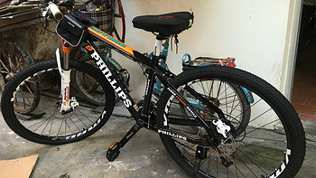 #双11晒战绩# PHILLIPS 菲利普 山地26英寸自行车 27速铝合金