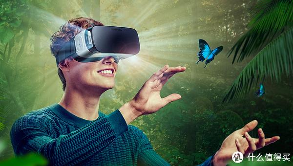 #首晒# SAMSUNG 三星 Gear VR(2015) 虚拟现实眼镜 第一时间开箱