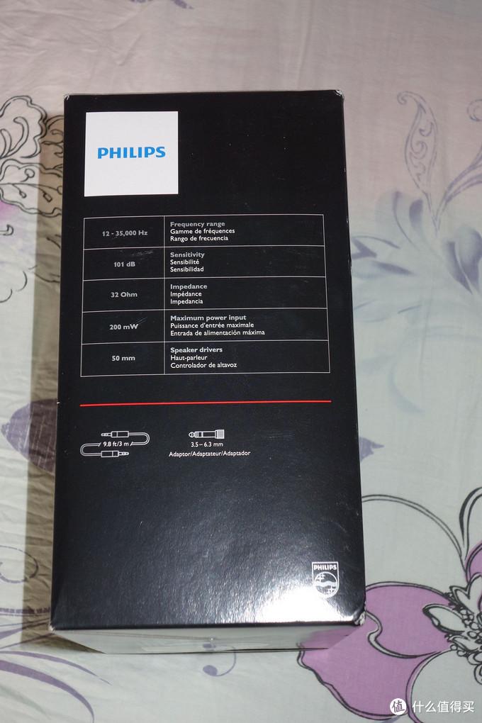 跟风晒一下Philips 飞利浦 SHP9500 头戴式耳机,(附耳罩和头带的拆解方法)