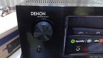 DENON 天龙 AVR-X1200W 7.2声道家用AV功放  开箱