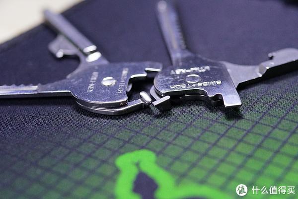 瑞士科技SWISS+TECH随身多功能钥匙正品跟山寨对比评测