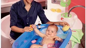 天使的周边 篇八:大而适当—— OKBABY 新款 湖蓝色 Onda Basic 欧达巴 新坐卧两用澡盆