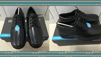 #有货自远方来#败家男人又买鞋:ROCKPORT 乐步 Northfield Oxford 男士防水系带皮鞋