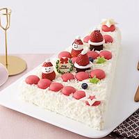 74元的模特图VS买家秀:LE CAKE 诺心心愿蛋糕