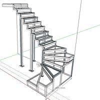终极DIY:一个人的家装 篇二:楼梯的设计与施工