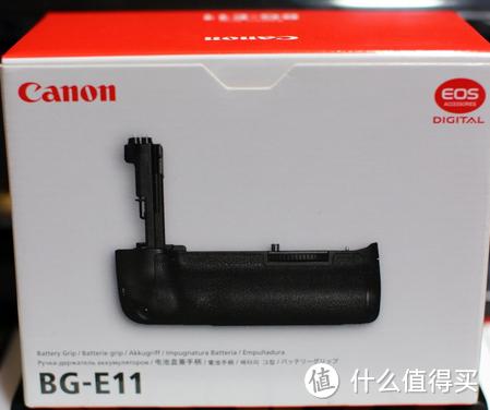 竖拍续航加强 — Canon 佳能 BG-E11 电池盒兼手柄