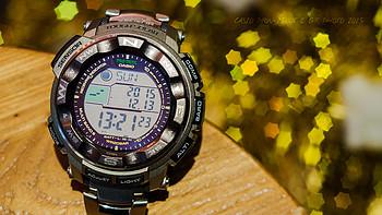#有货自远方来#2015黑五粗暴晒单:CASIO 卡西欧 PRW-2500T-7CR 登山系列 男款腕表