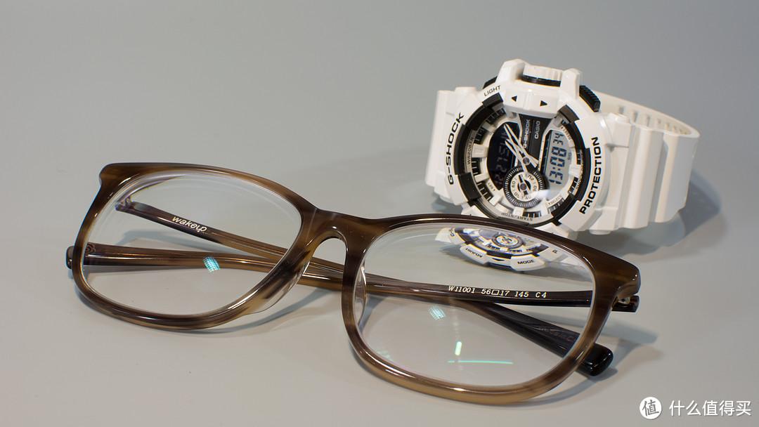 大脸汉子难配镜:可得眼镜网入 Ray·Ban 雷朋 板材光学眼镜架 ORX7037-5204/56+1.60非球面镜片