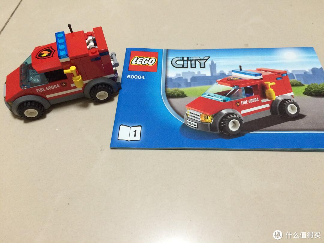 德亚直邮LEGO 60004消防局开箱