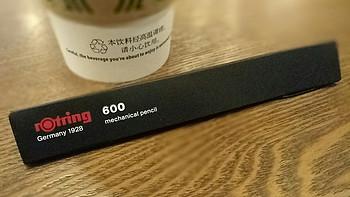 红环 600 自动铅笔包装细节(盒子|商标)
