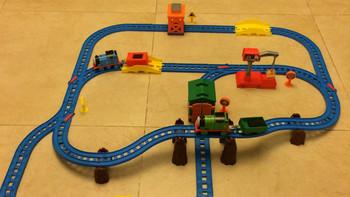 Thomas & Friends 托马斯和朋友 CGW29 电动火车玩具系列多多岛百变轨道套装 开箱体验