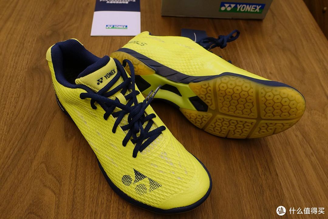 #本站首晒# YONEX 尤尼克斯 SHBAM 超轻量羽毛球鞋