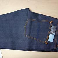 来自北欧的牛仔,NUDIE JEANS GRIM TIM DRY SELVAGE COMFORT 牛仔裤 开箱