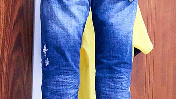 Dsquared2 S71LA0617 牛仔裤使用总结(布料|刷色|细节)