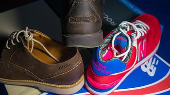 黑五剁手之旅:Clarks 男士休闲皮鞋、Rockport 乐步 Rugged 男靴等
