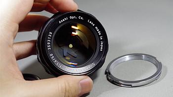 SUPER TAKUMAR 50 1.4 镜头使用体验(外观 做工)
