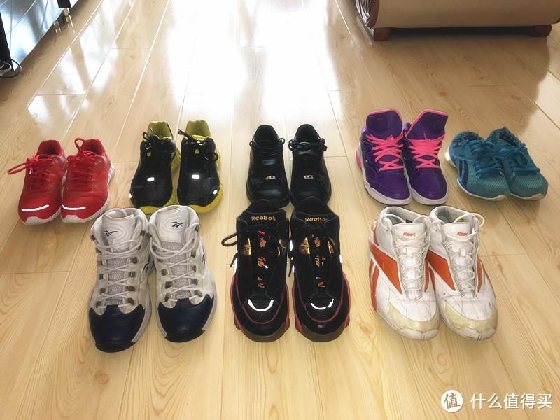 家里的RBK鞋