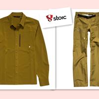 美淘神级户外品牌 STOIC 弹力衬衫、防雨冲锋裤