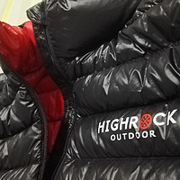 Highrock 天石 V01 鹅绒羽绒服 开箱短评