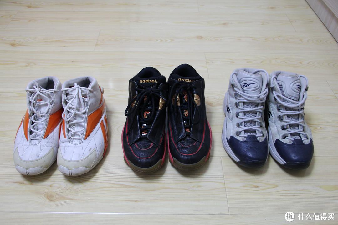 3双篮球鞋,下面陆续上细
