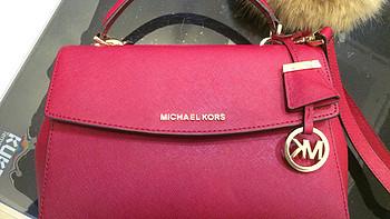 新年就要红红红:在梅西上的处女海淘Michael Kors Ava小号单肩包