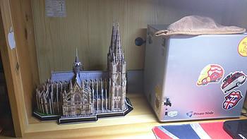 Cubic Fun 乐立方 3D拼图 篇三:Kölner Dom - 科隆大教堂