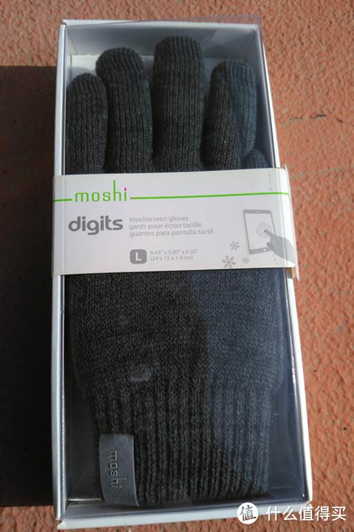 Moshi 摩仕 Digits 电容式触控防滑手套