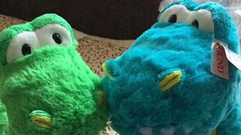 GUND 恐龙毛绒玩具 开箱
