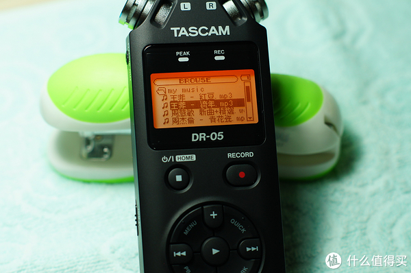 Tascam  DR05 录音笔 使用初感
