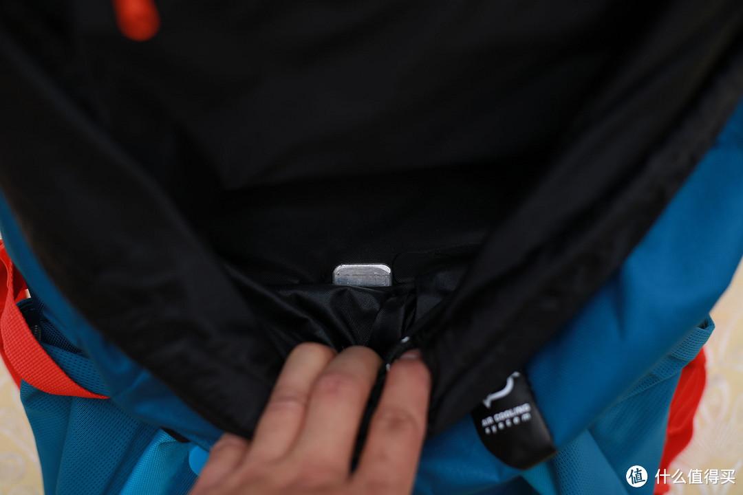#本站首晒# 超值白菜包:DECATHLON 迪卡侬 Quechua Forclaz 20 AIR 登山包