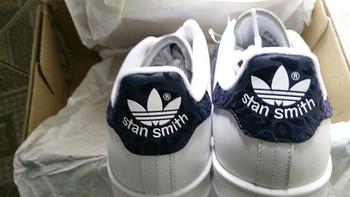 法亚直邮,第一双Stan Smith 迷彩蓝尾 女款男穿