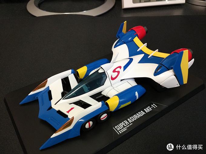 我的童年债:MEGAHOUSE成品系列AKF-11 超级阿斯拉达 赛车 开箱