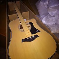 我的新玩具——入门民谣木吉他卡马D1C升级版简单开箱