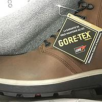 晒一双比较少见的靴子 — Ecco Whistler GTX 防水高帮户外靴