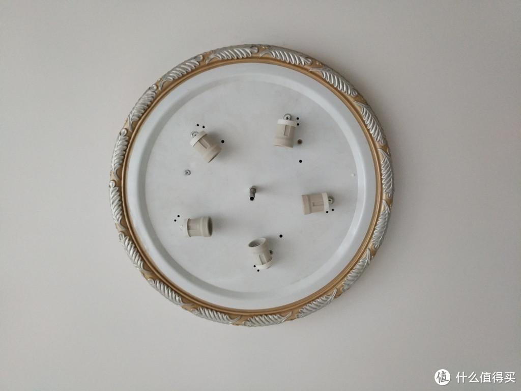 环形日光灯轻松改换:莱维圆形LED吸顶灯板记