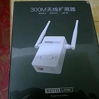 TOTOLINK EX300v2无线拓展器 开箱