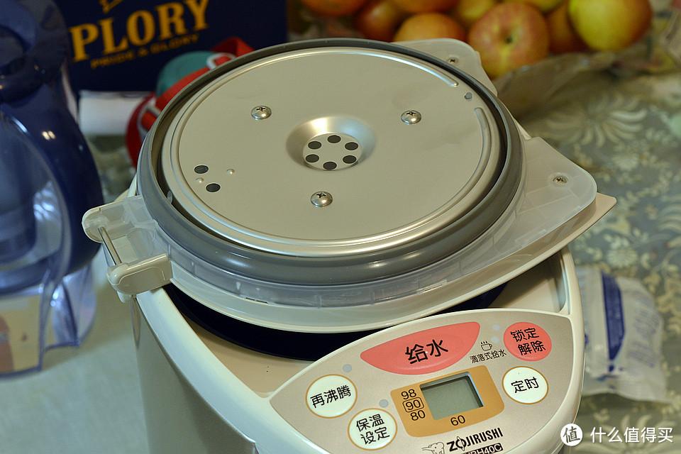 #本站首晒# ZOJIRUSHI 象印 CD-WBH40C 电热保温瓶