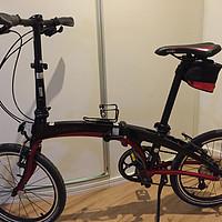 #本站首晒# 为了锻炼而入手 — DAHON 大行 ECA093 折叠自行车