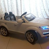 #本站首晒# Audi 奥迪 Q7 儿童电动车