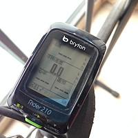 bryton 百锐腾 R210 自行车GPS码表 使用报告