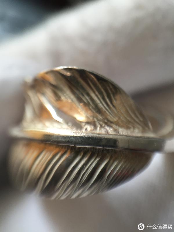 #首晒# Goro's 高桥吾郎银饰 点金羽毛戒指