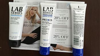 值男懒人必备单品 LAB SERIES 朗仕 Pro LS All-In-One Face Treatment 男士多效保养乳液