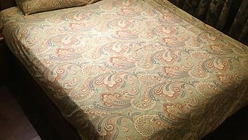 不断的被安利:宜美良品 贡缎埃及长绒棉60支印花床单四件套