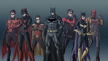 蝙蝠侠漫画书开箱——个人系列套装
