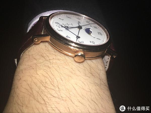 #首晒# 仰望星空,朗月繁星:BREGUET 宝玑 7787 月相腕表