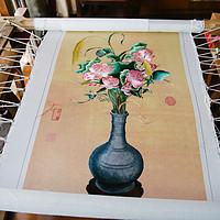 三幅家母的刺绣作品展示,也说说苏绣的购买攻略