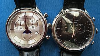 黑白双煞之 MAURICE LACROIX 艾美 Les Classiques 典雅系列 LC1148-SS001-131 男款时装腕表