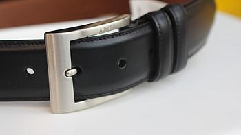 父亲节福利向 篇二:海淘腰带尺码到底怎么选——Allen Edmonds Basic Wide 男士黑色正装皮带入手记