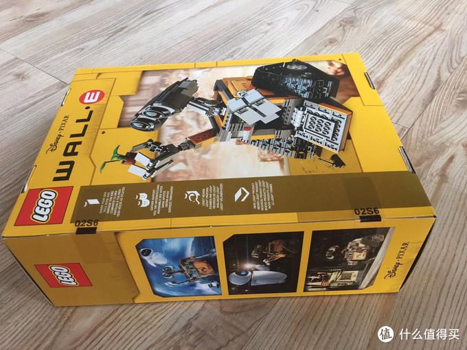"""""""乐高+瓦力""""不可抗拒的买买买组合:LEGO21303 IDEAS系列 机器人瓦力"""